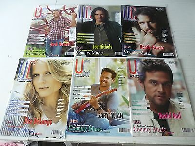 Up Country Magazines (6) In Total