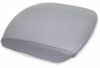 Armrest Center Console Real Leather Cover for Honda Pilot 09-15 Gray
