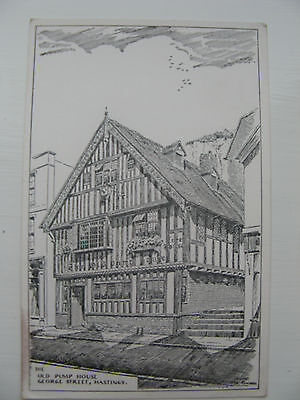 THE OLD PUMP HOUSE, GEORGE STREET HASTINGS unposted card  FROM EARLY 1900's