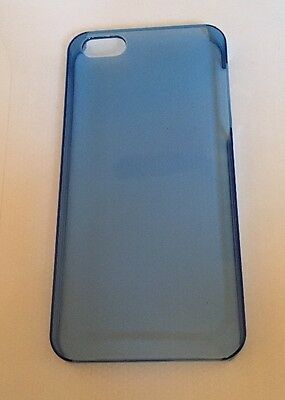iPhone 5 / 5s Blue Translucent Hard Plastic Case Job Lot 10x Cases Great Resell!