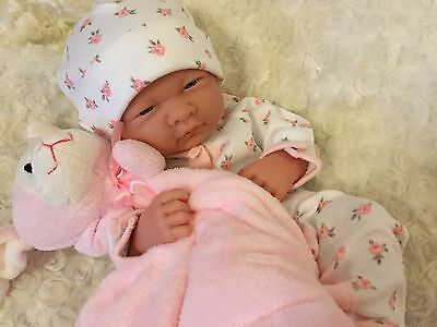 Berenguer Newborn Baby Girl Doll For Reborn Play Anatomically Correct + Extras