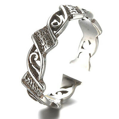 Celebrity Retro Silver Carving Toe Ring Adjustable Knuckle Ring Beach Jewelry
