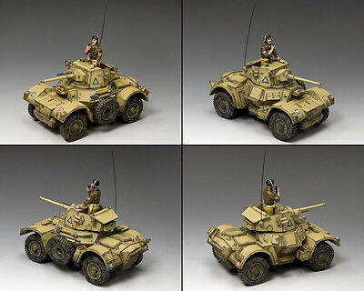 KING AND COUNTRY 8th Army Daimler Mk.2 Armoured Car WW2 EA093 EA93