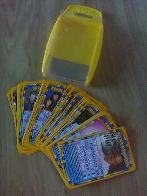 Top trumps  Harry Hills TV burp in yellow case