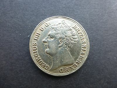 Unusual 1823 George iv two pound Medal silvered