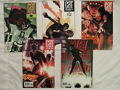 Catwoman #44, 49, 58, 59, 81 Adam Hughes cover lot iconic sexy pin-up covers AH!