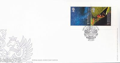 MILLENNIUM Booklet Pair 1st First Class Stamps FDC 2000
