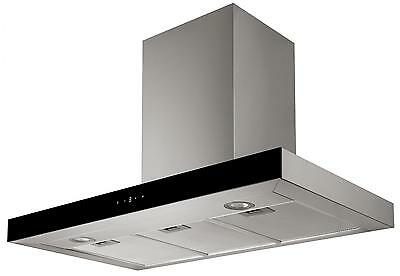 Cookology LINT900SS 90cm Stainless Steel Linear Chimney Cooker Hood, Ducting Kit