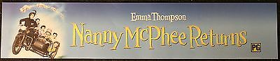 Nanny McPhee Returns, Large (5X25) Movie Theater Mylar Banner/Poster