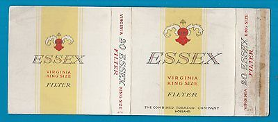 Old EMPTY cigarette packet ESSEZ  size 20.   #437