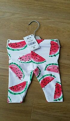baby girl next leggings 0-3 months New. Free second pair