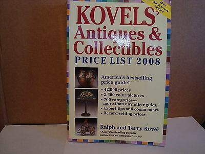 Kovels Antiques & Collectibles Price List Book 2008