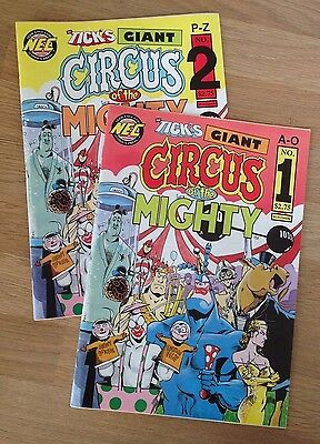 The Tick : Circus of the Mighty issues 1 & 2 (NEC comics)