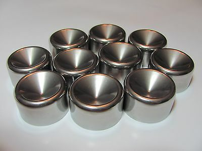 "Maglite storage cups (10 high wall D cell) 1.345""  34.163mm , Non freeze plug"