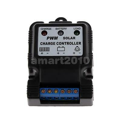12V 24V 10A PWM Auto Solar Panel Charge Controller Battery Charger Regulator