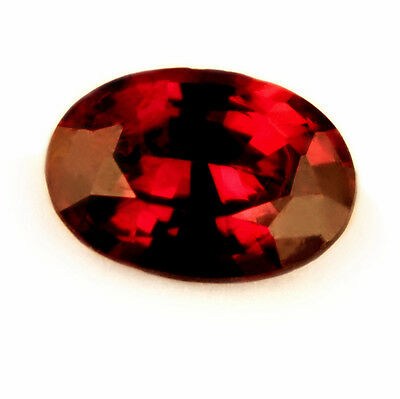 Certified Natural Untreated Pigeon Blood Red Ruby, 0.25ct Oval Cut - VVS Clarity