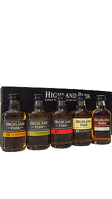 Highland Park - Tasting Collection 5 x Miniature Gift Pack  Whisky