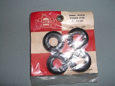 Scalextric MRRC Tyres MINT in bag on card . cat No 629