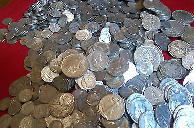 Over 1 Ounce Silver coin lots 90% silver#16 pre1965 Dollar-Halves-Quarters-dimes