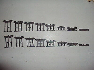 Hornby  OO Gauge,  incline track supports