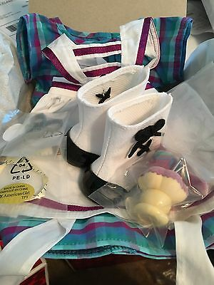 American Girl Addy Sewing Dress And Supplies Limited Ed  NIB Excellent  RETIRED