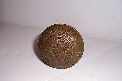Vintage Antique Victorian Brass Doorknob Very Ornate
