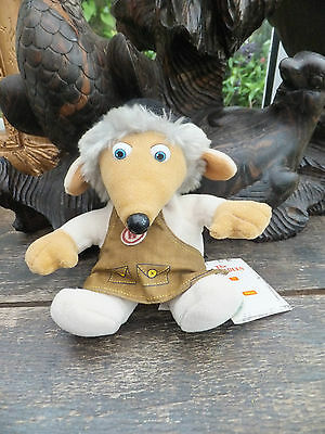 cute Tobermory Womble Beanie Baby by Elizabeth Beresford With Tags