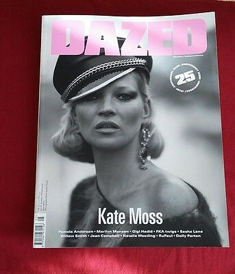 Dazed and confused. kate moss cover.25 year anniversary edition. New