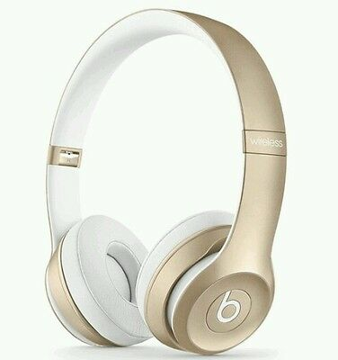 GOLD Beats by Dre Solo 2.00  Wireless Headphones. All accessories and SEALED