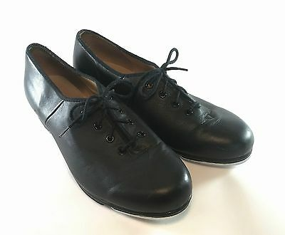 Block Black lace-up tap shoes Size 8 (US-womens) Pre-owned