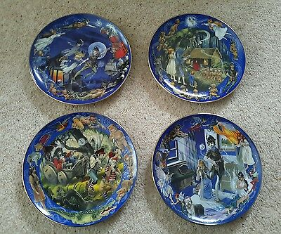Bradex Peter Pan Limited Edition Collectors Plates