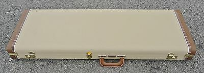 Fender Stratocaster/Telecaster Case - Blond Tolex W/Green Poodle Interior - NEW