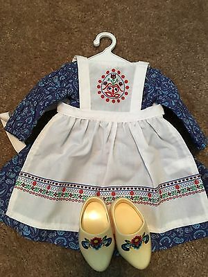 American Girl Kirsten's  Baking Outfit, VHTF, RARE Excellent Condition RETIRED