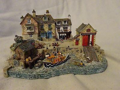 Lifeboats Rnli Safely Home By Jane Hart Warbury Mint Excellent Condition
