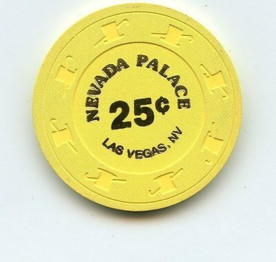 .25 Chip from the Nevada Palace Casino in Las Vegas Nevada