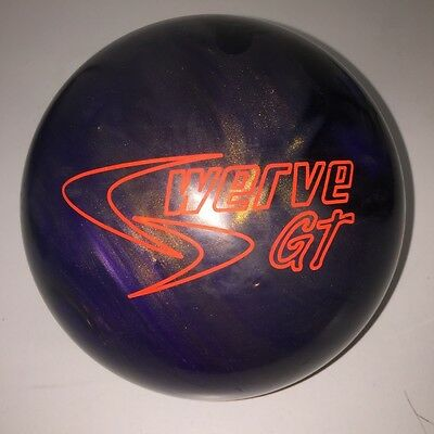 "USED 15# Columbia 300 Swerve GT Reactive Resin Bowling Ball - 4 3/4"" Span"