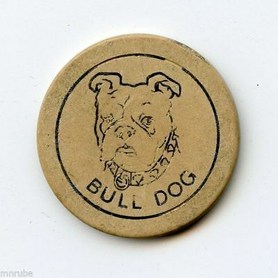 Bull Dog Chip from Location Unknown