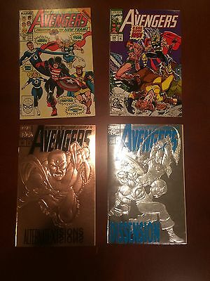 Avengers Comic Books - Issue #'s 300, 349, 360 & 363