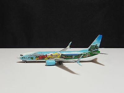 1/400 Alaska Airlines 737-800S Spirit Of The Islands Colors N560As Gemini Jets