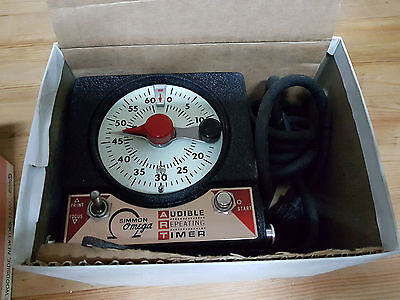 Simmons Omega Audible Repeating timer M-59 darkroom  camera oscura vintage