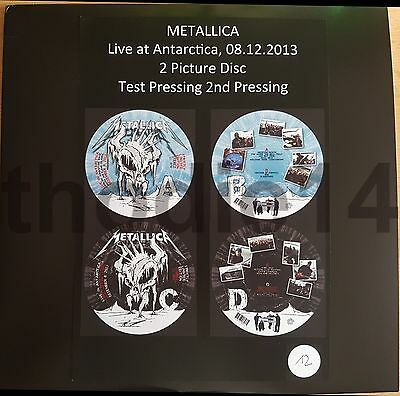 Metallica - Antarctica 2Lp Picture-Disc Test-Pressing South Shetland Island 2013