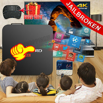 Online Player 4K KODI (XBMC) Fully Loaded TV BOX Android5.1 Free Live Sports XXX