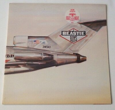 Beastie Boys Licensed to Ill (Kill) Def Jam 1st Pressing Great Condition L@@K !