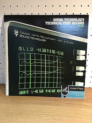 Sound Technology Technical Test Record Tr150