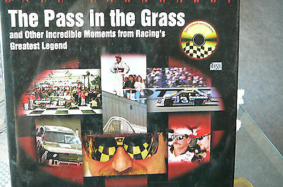 """Dale Earnhardt """" The Pass In The Grass """" With Cd Of Calls , Reactions Hardback"""