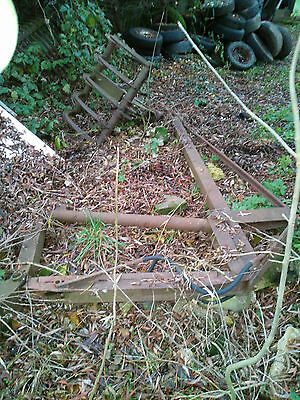 Tractor Arm with Grapple Claw - Ford Ferguson / Antique - Barn Find