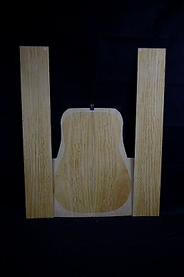 Ceylon Satin Wood Bee's wing Figure AcousticGuitar Back & sides Tonewood Luthier