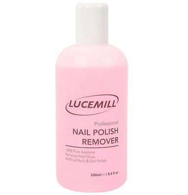 1 X 250Ml Strictly Professional Soak Off Nail Tips & Gel Polish Remover Acetone
