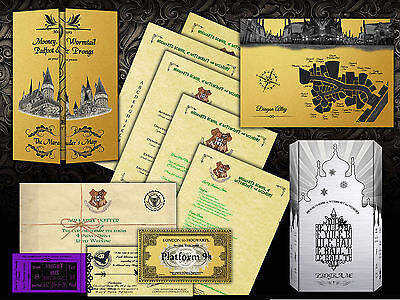 Harry Potter HOGWARTS ULTIMATE BIRTHDAY GIFT SET, PERSONALISED FOR HIM OR HER