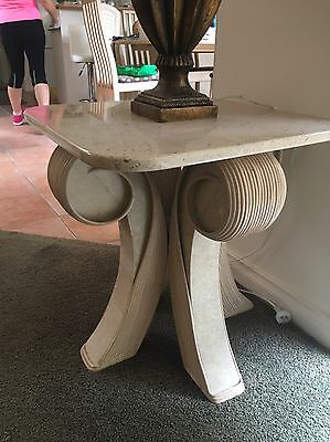 Marble Side Tables /TV Table (3 Tables)